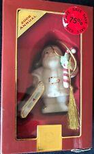 Lenox Santa's Sledding Holiday Sculpture Nib! 2006 Annual