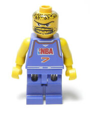 Lego Minifig Nba player Number 7 2003 Violet 7-12 Boys & Girls
