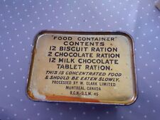 Ration CANADIENNE 1945