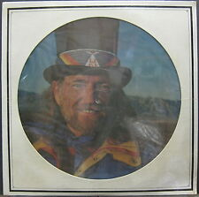 WILLIE NELSON Stardust 1978 US Promo Only PICTURE DISC LP Booker T SEALED