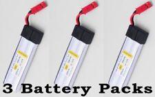 550mAh 3.7V LiPO Battery for WL Quadcopter/CAR V222V929/V949/V959/V969 3 piece