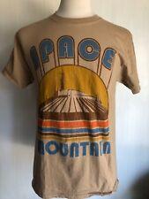 SPACE MOUNTAIN Official Disneyland Retro Rollercoaster Men's T-Shirt Size Medium