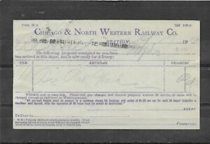 1910 Postal Card Chicago & North Western Railway Co., Madison, WI