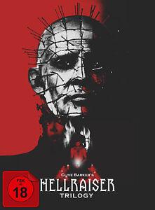 Hellraiser Trilogy - Collector's Edition im Digipak Blu-ray FSK18 *NEU*OVP*