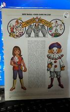Betsy McCall Mag. Paper Doll, Betsy McCall is Circus Clown for a Day, April 1971