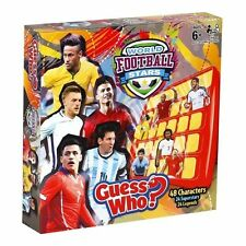 World Football Stars Edition Guess Who Official Licensed Product