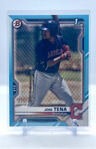 2020 Bowman Prospect - Jose Tena - Bowman 1st - Sky Blue #/499