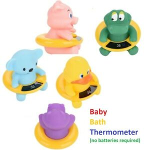 Infant Bath Tub Water Temperature Tester Cute Animal Shape Thermometer Toy Duck