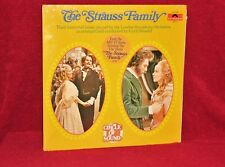 OST 2 LP THE STRAUSS FAMILY CYRIL ORNADEL & LSO 1972 POLYDOR SEALED HYPE STICKER