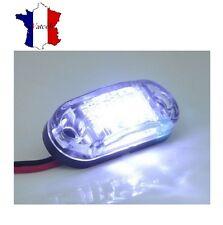 2 X 12V BLANC SMD 2 LED FEUX DE GABARIT POUR CAMION REMORQUE CARAVANE CHASSIS