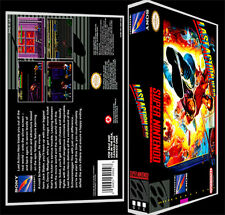 Last Action Hero - SNES Reproduction Art Case/Box No Game.