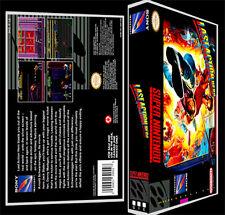 Last Action Hero - SNES Reproduction Art Case/Box No Game.