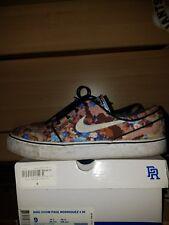 NIKE SB Stefan Janoski Blue Digi Floral Camo Skateboarding Shoes size 9