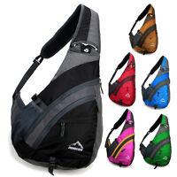 New Men women Messenger Shoulder bag sling sport Travel Chest bag Backpack nylon