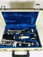 Vintage Kohlert WRG Clarinet Pilot 41427 Made in Germany Wood 2 Mouth Pieces