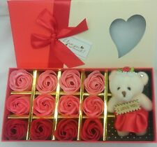 I love you Teddy Bear Rose For Her&Him  Valentine's Gift Box