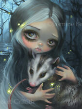 Jasmine Becket-Griffith florida southern gothic art Big print Signed My Possum
