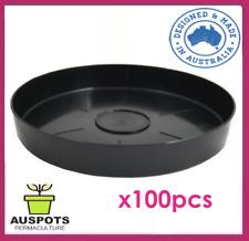 Saucer for 150 to 200mm Pots x 100pcs / High Quality Polypropylene