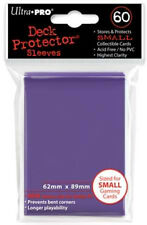 Ultra Pro Deck Protector Sleeves Small 60ct 62 X 89 Purple Yugioh