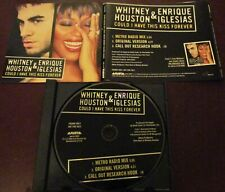 WHITNEY HOUSTON ENRIQUE IGLESIAS - COULD I HAVE THIS KISS FOREVER PROMO CD 3852