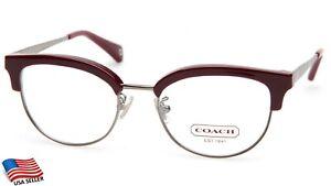 NEW COACH HC 5040 Nicolette 9137 Garnet EYEGLASSES GLASSES FRAME 49-18-135 B38mm