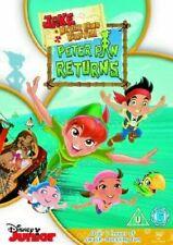 JAKE AND THE NEVER LAND PIRATES PETER PAN RETURNS WALT DISNEY JUNIOR UK DVD NEW