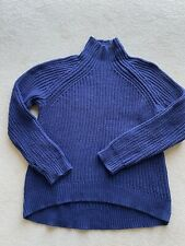 Gap Blue Cable Knit / Fishermans Jumper Size M - BNWOT