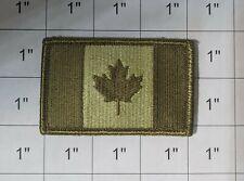 CANADA ARMY FLAG PATCH MULTICAM COMBAT MORALE MILITARY GREEN MILSPEC ACU LEAF