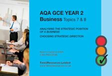 AQA GCE A-Level Year 2 Business Revision Guide Topics 7-8