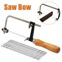 Woodworking Saw Bow Jewelry Wire Carved U-shaped Hand Hacksaw Handle Tools