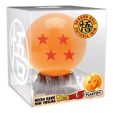 DRAGON BALL Z BALL BOLA PLASTOY COIN BANK HUCHA FIGURA FIGURE NEW NUEVA