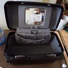 Vintage Samsonite Acclaim Train Case Make Up Case Black Luggage