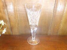 "STUNNING crystal/cut glass TALL VASE - 10 7/8"" ht - BRILLIANT CUTTING & DESIGN"