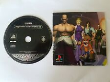 Registered users demo 06 ps1 sony playstation SCED-01988