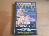 Hysteria Legends Stevie Hyper D Volume 1 6 Cassette Tape Box Set JJ Frost