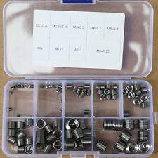 90 Pcs Helicoil Stainless Thread Repair Insert Kit M2 2.5 3 4 5 6 7 8
