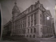 PICTURE VINTAGE  POLICE   HEADQUARTERS 1905 NEW YORK CITY