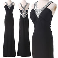 PLUS SIZE SEXY Evening Dresses Party  Masquerade Ball Gowns Prom Long MAXI Dress