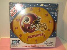 Washington Redskins Quartz Clock, Officially Licensed NFL Product, NIOB USA Made