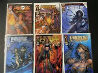 Lot of 56 Witchblade comic books, all bagged and boarded