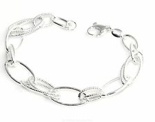 Precious Metal Without Stones Fine Bracelets Latest Collection Of Bracciale 800 Argento Silberreif Accessori In Argento Buy Now