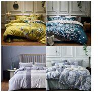 Luxury Egyptian cotton Duvet  Bedding set sheet king queen size sets full cover