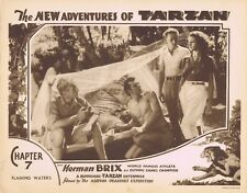NEW ADVENTURES OF TARZAN 1935 Herman Brix Chapter 7 VINTAGE SERIAL Lobby Card 7