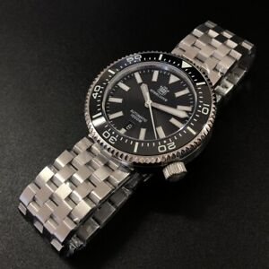"STEELDIVE SD1976 ""Puck"" Automatic 1000m Dive Watch *UK SELLER* *EXTRA STRAP*"