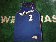 God Shammgod Nike Team Issued Washington Wizards NBA Jersey 1998-1999 VTG Sz 52