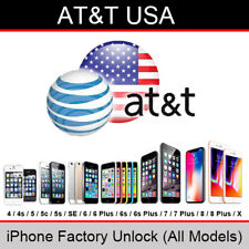 AT&T USA iPhone Factory Unlock Service (All Models/Clean/Out of contract)