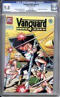Vanguard Illustrated 2 CGC Graded 9.8 NM/MT Dave Stevens  Pacific Comics 1984