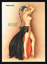 Vintage Alberto Vargas Girl Latin Spanish Dancer Female Nude Pin Up Art Print