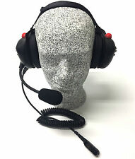 High Noise Headset for Motorola XPR3000 Series Radio, Behind-the-head Model