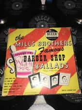 THE MILLS BROTHERS-Famous Barber Shop Ballads-Vol. 2 (1949) DECCA 45 RPM Set
